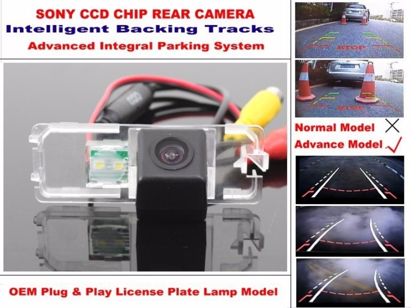 For Volkswagen VW Golf 7 Golf7 MK7 A7 5G 2012~2015 Smart Tracks Chip Camera HD CCD Intelligent Dynamic Rear View Camera (3)