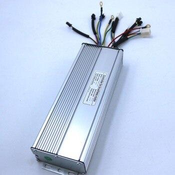 72V 2500 W-3000 W 60Amax Brushless Dc Motor Controller Ebike LCD3 Kunteng Regolatore di Onda Sinusoidale + KT-LCD3 di Visualizzazione di Un Set