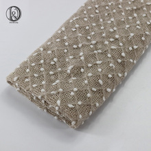 (75 * 50cm) Stickad Bobble Wraps Mini Small Ball Vintage Style Nyfödda Fotografier Props Swaddlings Padding Nubble Wraps