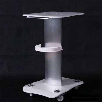 High Quality Beauty Trolley Stand Holder Rolling Cart Roller Wheel Aluminum ABS Trolley for  RF Cavitation IPL