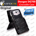Doogee DG700 case Crocodile 100% Original New TITANS2 Mobile Phone Protective Leather Case Flip Cover + Free Shipping