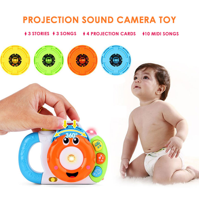 Camera Toy Baby Learning Machine Story Machine Electric Multicolor Led Plastic Teach Toy Hobby Sing Song Cool Learning
