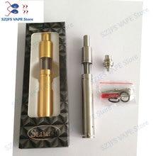 Original Yiloong SLIMZY MOD 304 stainless steel large smoke high-grade mechanical tobacco rod electronic cigarette vs sob mod