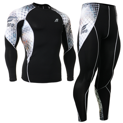 mens clothing sets suit mens pants skinny+cycling base layer for running workout clothes men ropa online mujer