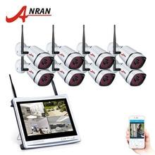 ANRAN WI-FI 108 P Главная Открытый CCTV Камера Системы 8-канальный видеонаблюдения Камера комплект видеонаблюдения Ночное видение комплект
