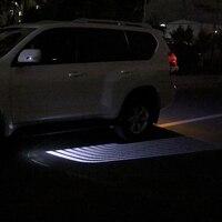 Светодио дный автомобилей Добро пожаловать Свет Крылья Ангела лазерной лампы сигнальный фонарь открытой двери для автомобиля для Toyota Land