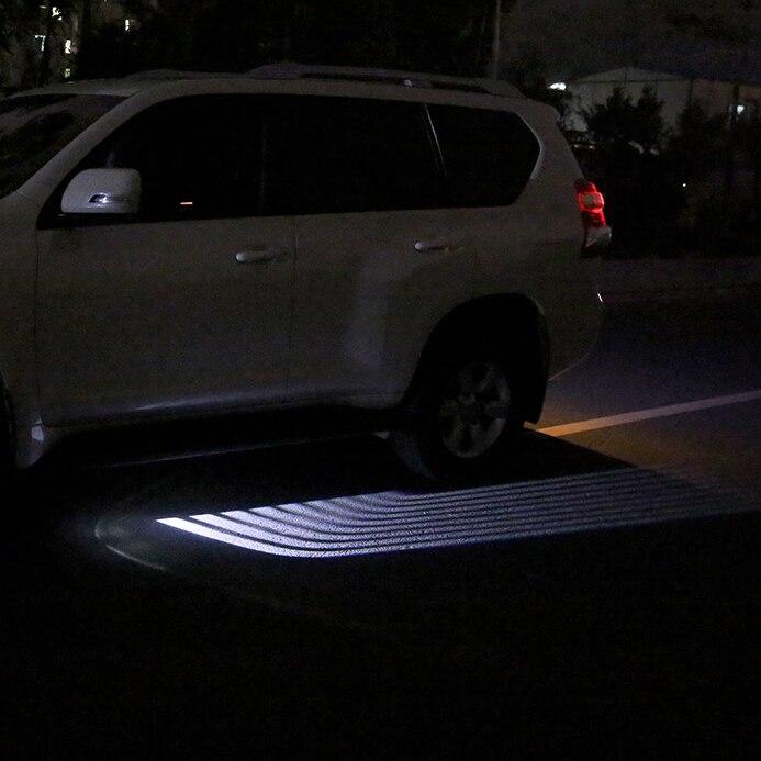LED Car Welcome Light wings of an angel Laser Bulb Auto Door Light for For Toyota Prado Land cruiser corolla RAV4 Accessories rav 4 3 door