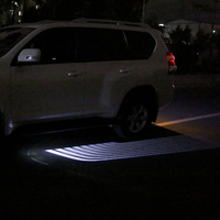 LED Car Welcome Light wings of an angel Laser Bulb Auto Door Light for For Toyota Prado Land cruiser corolla RAV4 Accessories