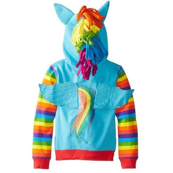 Girls Sweatshirts Hoodies Children Clothing Autumn And Winter Baby girl Thick Cotton Tops Kids Cute Cartoon Rabbit Hooded Coat 14