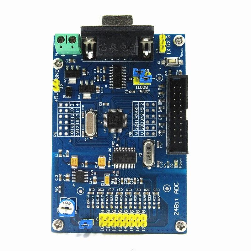 Module d'acquisition de haute précision ADS1256 + STM32F103C8T6 carte d'apprentissage de développement de contrôle industriel 24 bits ADC alimentation - 2