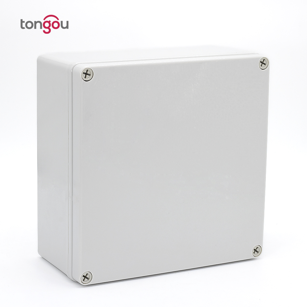 200*200*95 mm Waterproof IP67 ABS Junction Box Electrical Project Box Enclosure Instrument Case Wiring Connection Box waterproof plastic enclosure case junction box 265mm x 185 mm x 115 mm l15