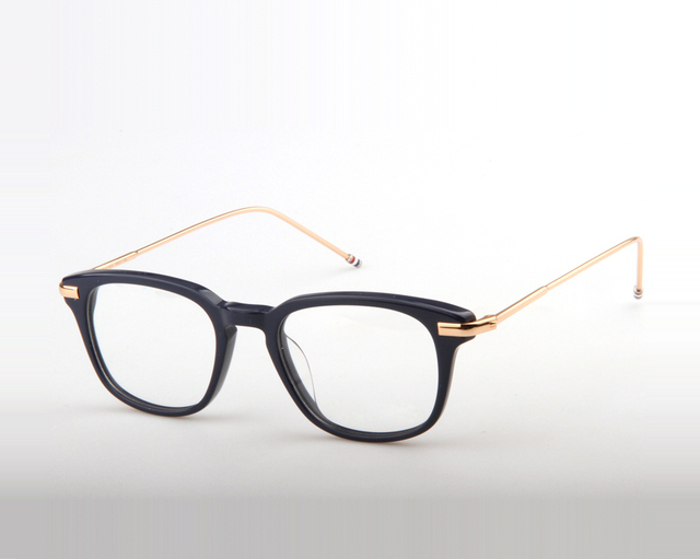 e44b79977d5 2017 Hot Selling thom TB704 square frame reading glasses Fashion Vintage optical  frame eyewear frames Brand eyeglasses metal leg