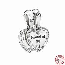 pandora charm amicizia cuore