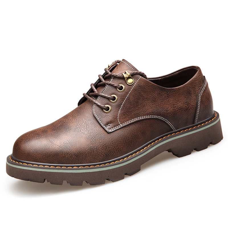 New European high quality lace up men shoes cool casual oxfords breathable spring/autumn business solid casual shoes man 2018 european cool men shoes breathable light casual adults casual shoes spring autumn solid high quality sneakers man