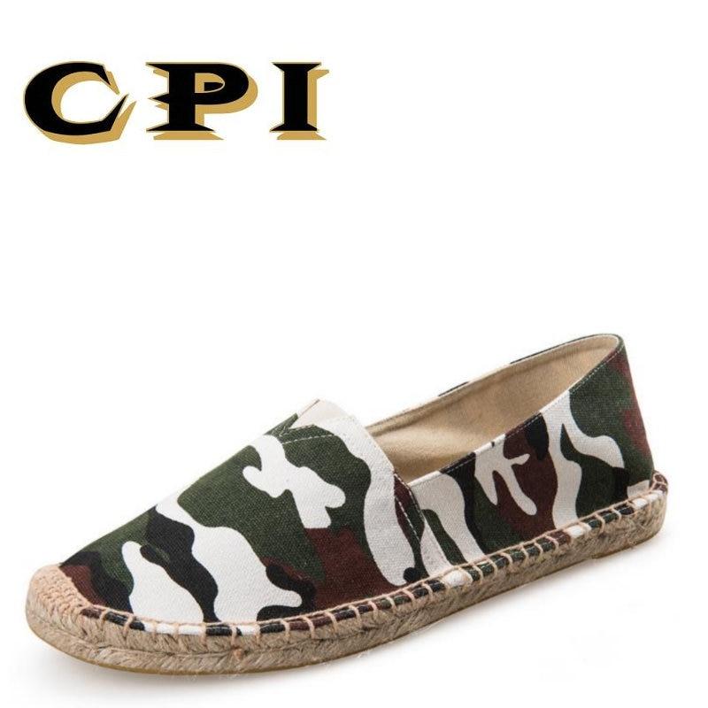 CPI 2018 Uudet kesä miesten kengät Muoti naamiointi sandaalit Kevyt - Miesten kengät