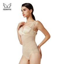 ceb0b2918172d Body shaper women 2 pieces Slimming tummy waist trainer butt lifter  Modeling Strap corsets shapewear sexy Corrective Underwear