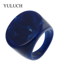 YULUCH NEW Natural Stone Rings Beautiful Grain Women/Men Semi-precious Ring Jewelry For Party Wedding Unique Design