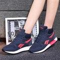 Новый Бренд Женщин Повседневная Обувь Мода Tenis Sapatos Feminino Роскошные Scarpe Донна Дышащий Корзины Femmes En Toile JD607