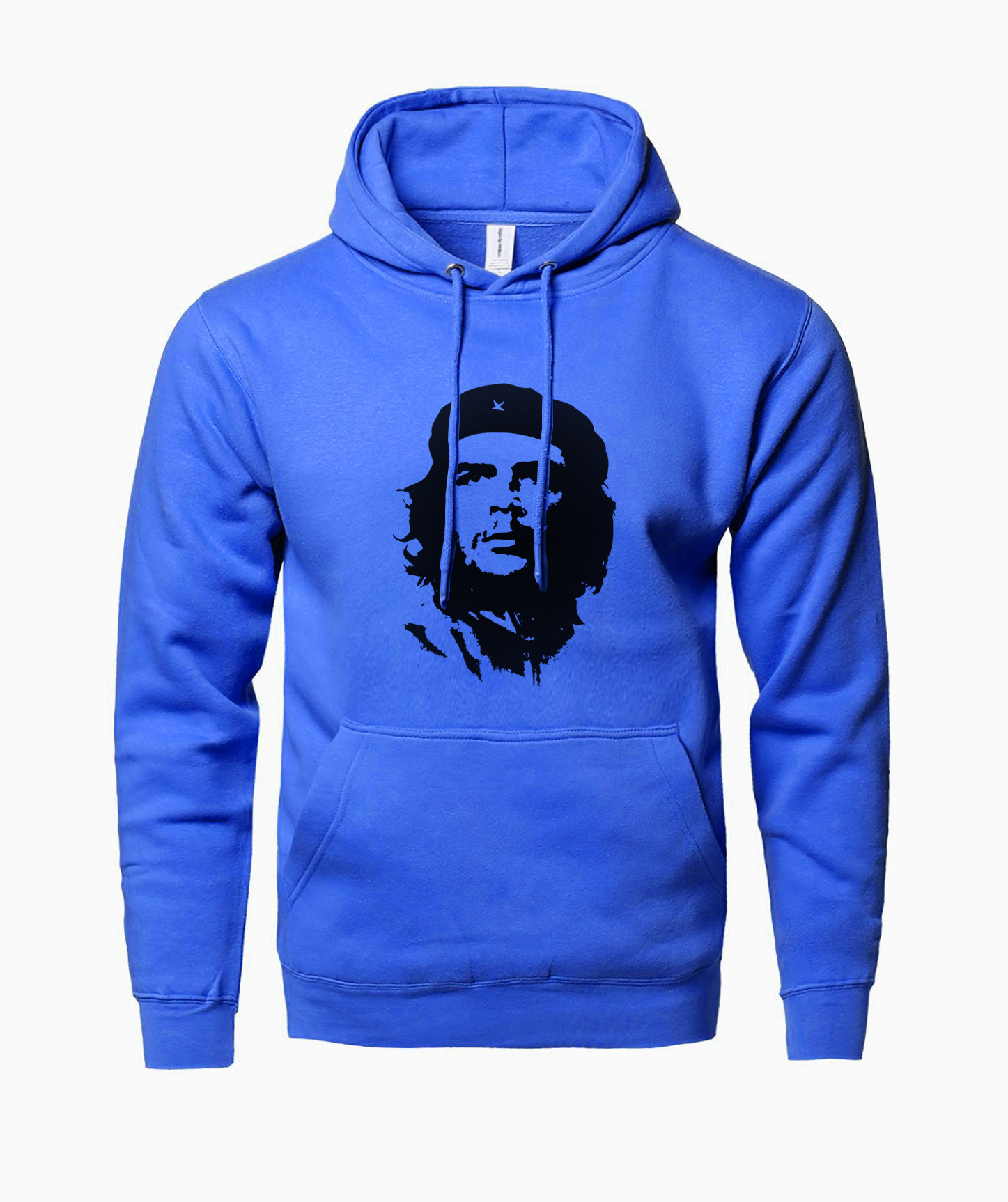 Ernesto Guevara Character Print Fashion Hoodies 2019 Winter Fleece Sweatshirts With Hat Sweatpants Harajuku Crossfit Tracksuits