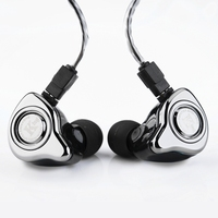 Headphones TFZ SERIES 5S Silver Plated Cable Purple Version Special Custom Edition Sport In Ear Earphone