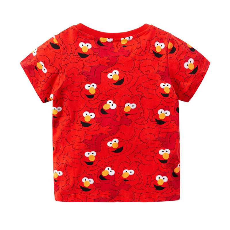 jumping meters Baby Tees Tops summer cotton boys t shirt clothing characters Toddler kids t shirts fashion children's t shirts 2