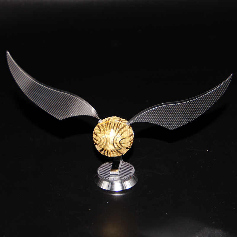 Unfinished Golden Snitch High Quality Metal Retro Model Harri Potter