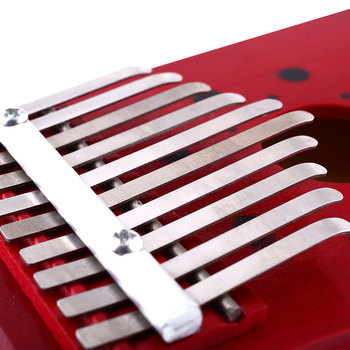 Kalimba portable avec 10 notes en bois de pin 2