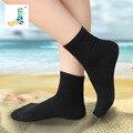 Бамбуковые Волокна Модальных Женские Носки Мода Носки Черный Цвет Трубки Сорбируют Пота Носки Материал Хлопка Женщин Носки