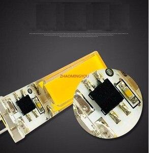 Image 3 - 1PCS LED COB 10W GY6.35 G8 110V 220V dimmable HA CONDOTTO LA GY6.35 110V LED G8 220V cob2508 dimming led g6.35 220v cob2508 di cristallo di Luce