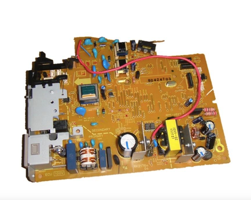 Original LaserJet Engine Control Power Board For HP P1102W RM1-7595 100V / RM1-7596 200V Voltage Power Supply Board 220V repalce paper roller kit for hp laserjet laserjet p1005 6 7 8 m1212 3 4 6 p1102 m1132 6 rl1 1442 rl1 1442 000 rc2 1048 rm1 4006