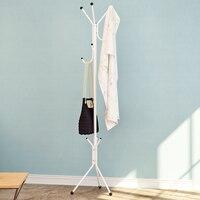 Bedroom wrought iron metal coat rack Floor standing fashion creative clothes rack towel Hangers wx8300917