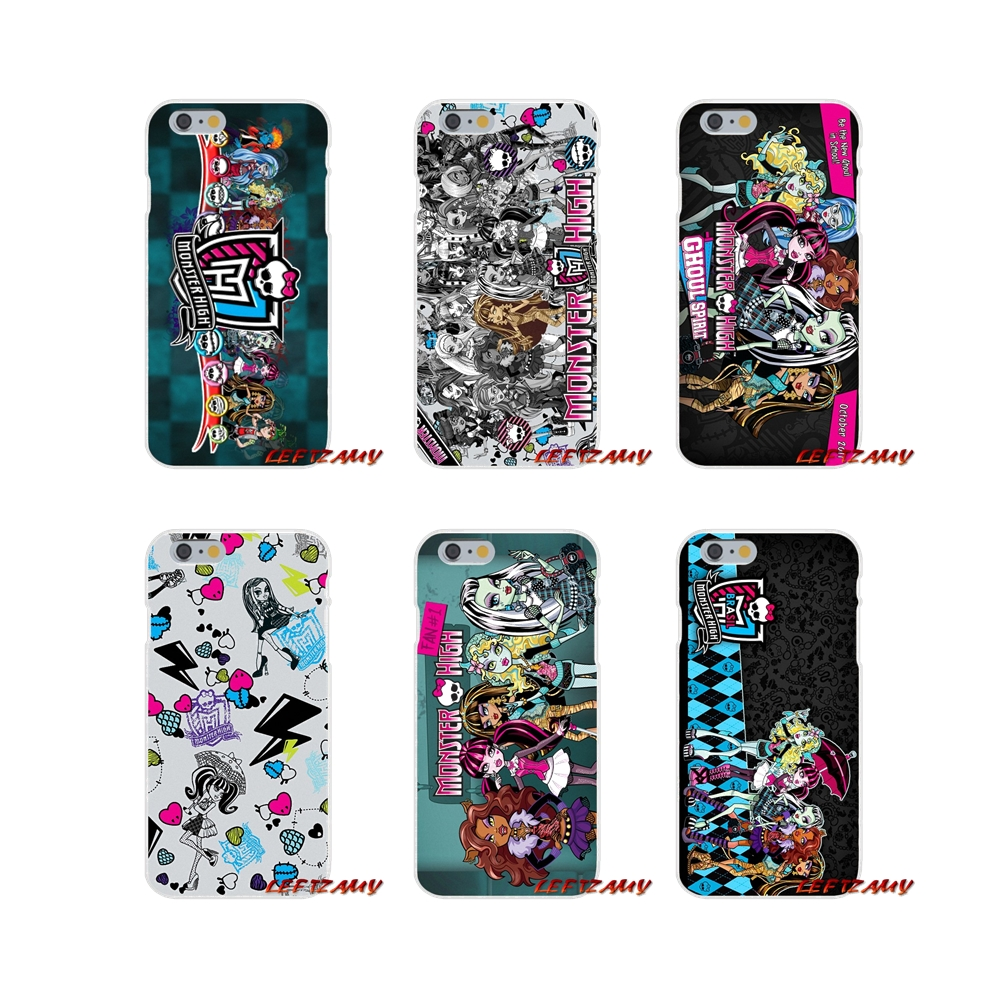 For Xiaomi Mi6 Mi 6 A1 Max Mix 2 5X 6X Redmi Note 5 5A 4X 4A A4 4 3 Plus Pro Monsters High School Girl Transparent TPU Cover Bag