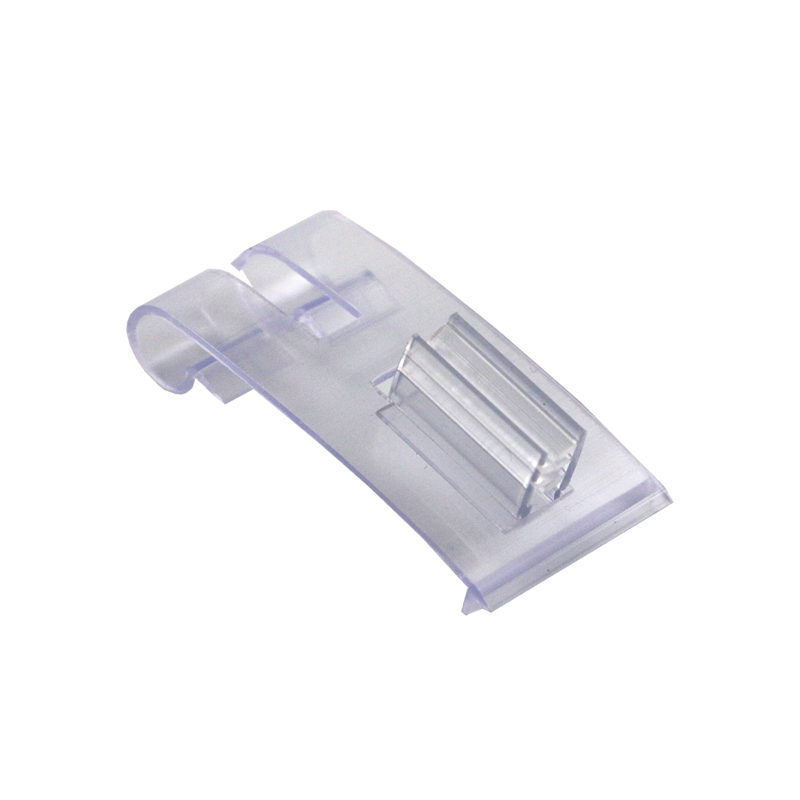 Supermarket Shelf Talker Sign Clip Soft PVC Grip Label Holder Clamp Price Tag Display Snap On Data Strip AD KT Board Sheet Clip