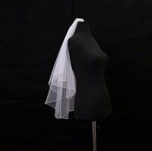 Cute Bridal Two Layers Veils