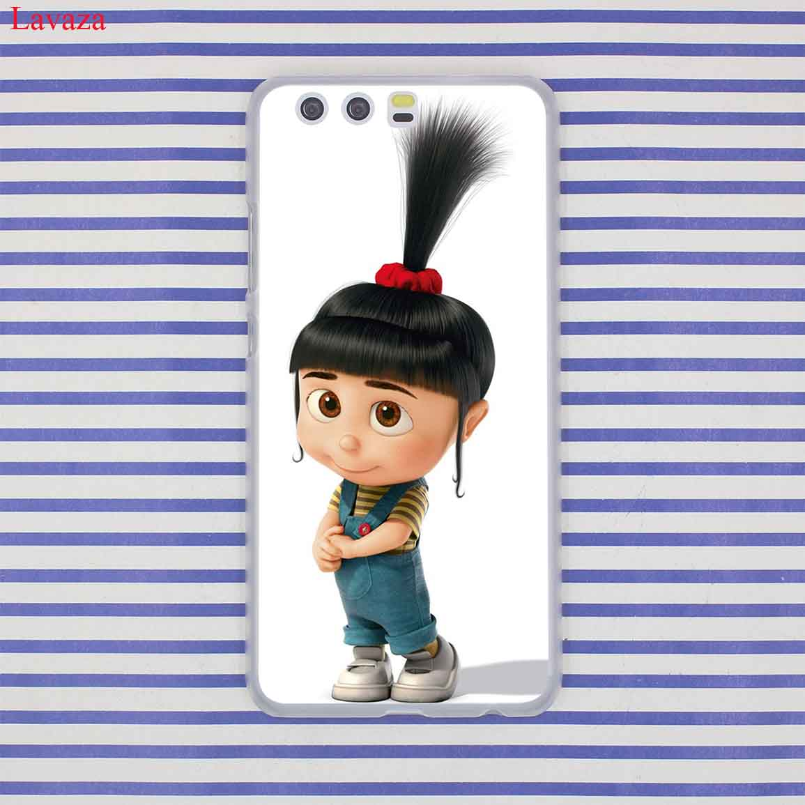 Lavaza Minions Minion My Unicorn Agnes Case for Huawei P20 P10 P9 Plus P8 Lite Mini 2015 2016 2017 P Smart Mate 9 10 Lite Pro