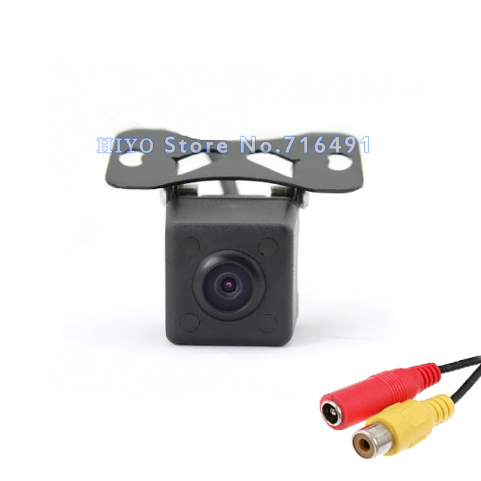 Waterproof HD Car Rear View Camera 170 Degree Wide View Adjustable Night Vision cctv CMOS Reverse  Backup / Front Parking Camera 18 5mm drill hole car parking backup reverse rear view camera 8 led night vision 170 degree mini waterproof color ccd image