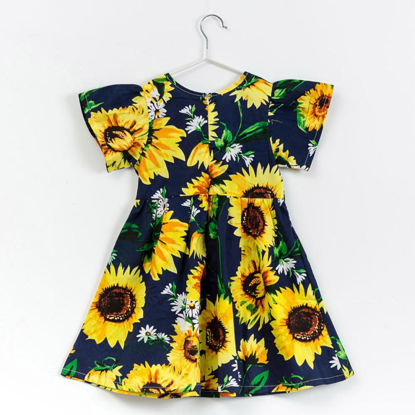 MUQGEW 2018 new Summer Baby Girls Kids Infant Toddle Floral Cartoon Sundress Clothes Princess Dress Child Clothing 0705