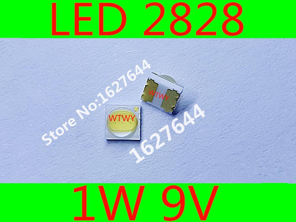 50pcs Led Backlight High Power Led 0.8w 2828 6v Cool White 45lm Gm2bb1zf2cem Tv Application For Sharp Diodes