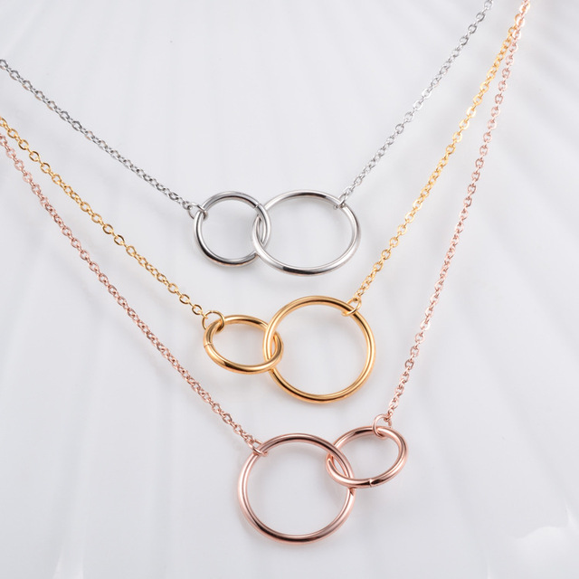 yellow circle gold necklace co engravable p m pendant in necklaces shane