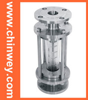 DN100 LZB Stainless Steel Glass Rotameter Nitric Acid Corrosion Resistant Flow Meter For Liquid And Gas