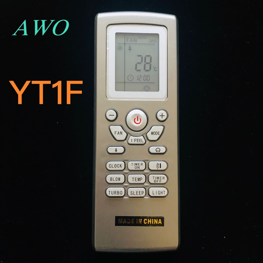 New YT1F For GREE Remote control for air conditioner YT1FF YT1F1 YT1f2  YT1F3 YT1F4