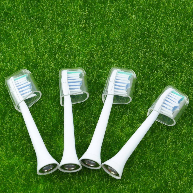 1071 Hot selling Hot selling Electric Toothbrush Head Replacement Heads With Protective Covers for philips very cheap 4pcs/lot image
