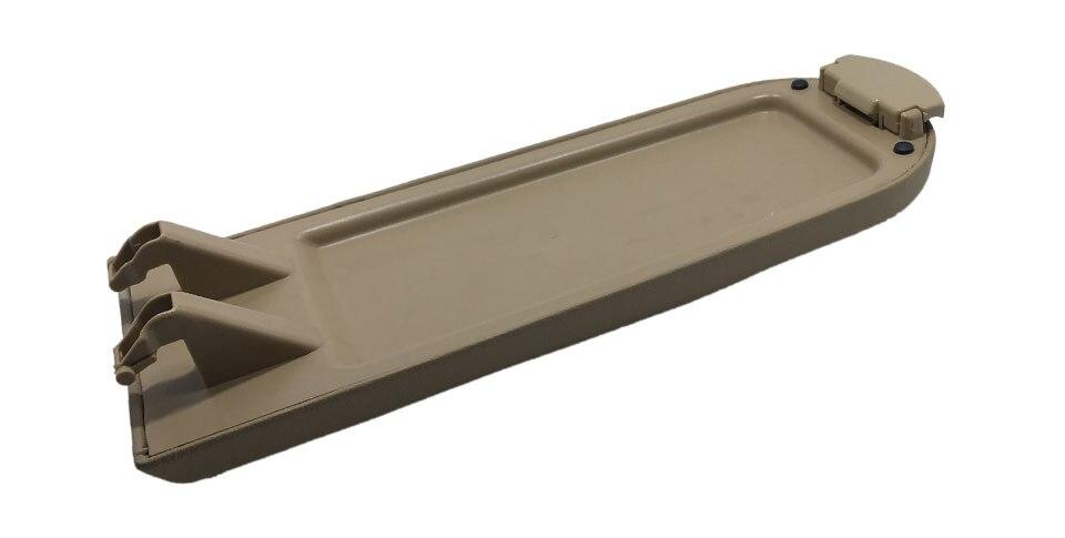 Bege escuro de plástico couro center console