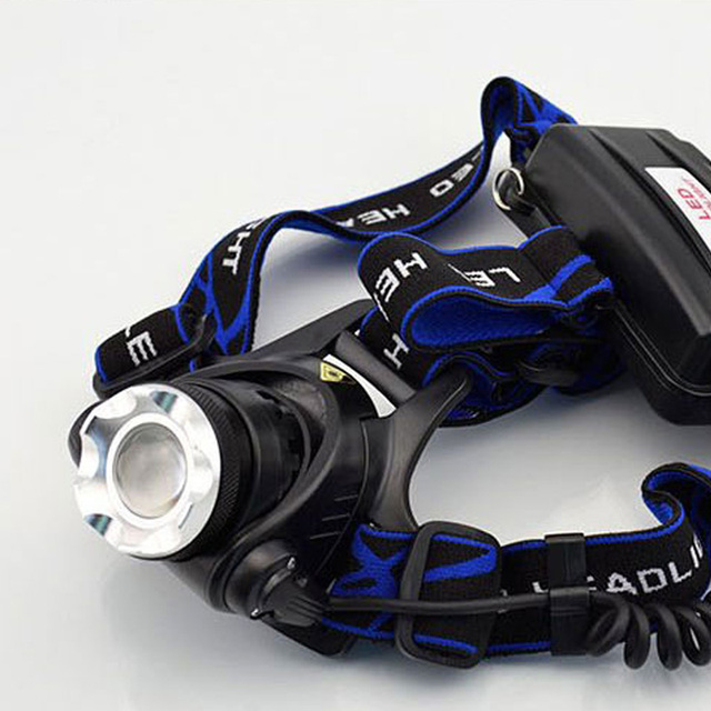 ZK45 Head Light 3800 Lumens CREE XM-LT6 Zoomable LED Headlamp Rechargeable Head Lamp Fishing Light  Led Flashlight Torch