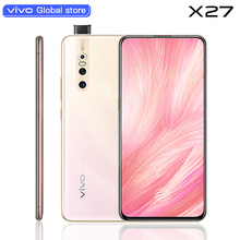 Оригинальный мобильный телефон vivo X27 смартфон на Android 9,0 Восьмиядерный Snapdragon 8 + 128 отпечаток пальца 48.0MP AI HiFi подъемная камера