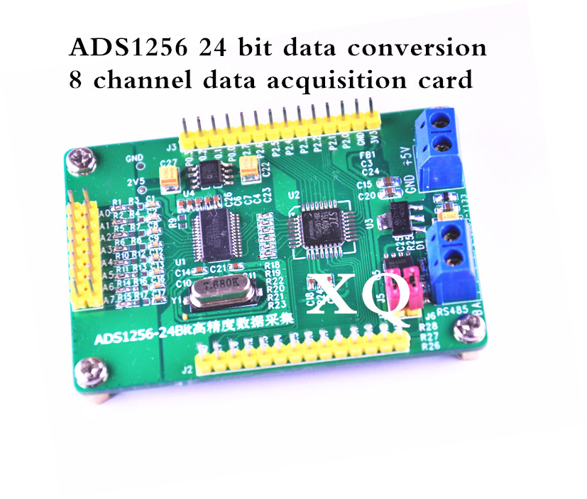 Ads 1256 Module 24-bit Adc Ad Module High Precision Adc Acquisition Data Acquisition Card 8 Channels Air Conditioning Appliance Parts
