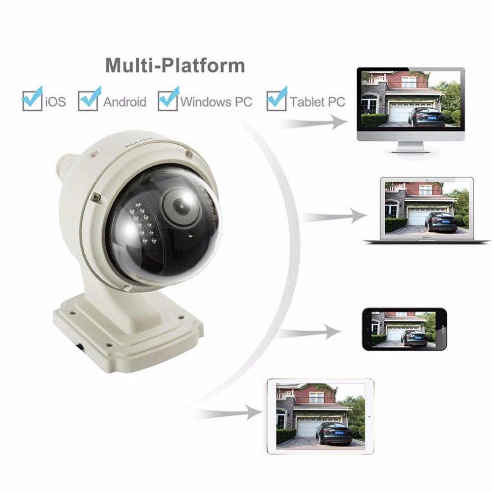 SP015 Professional Wireless IP Camera 1280*720 1.0MP CMOS Sensor Home Security Network CCTV Night Vision Camera