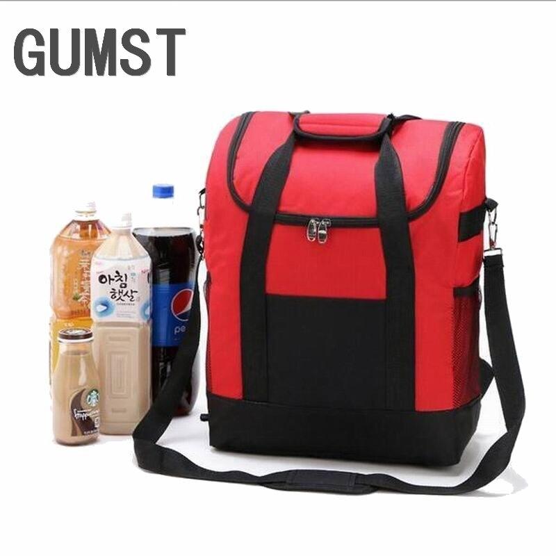 Lagerung Kühltasche Tragbar Praktisch Picknick Essen Trinken Einkaufen Taschen