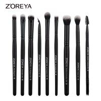 Zoreya Brand 9pieces Professional Makeup Brushes Set Tools Toiletry Kit Make Up Brush Set Eye Shadow