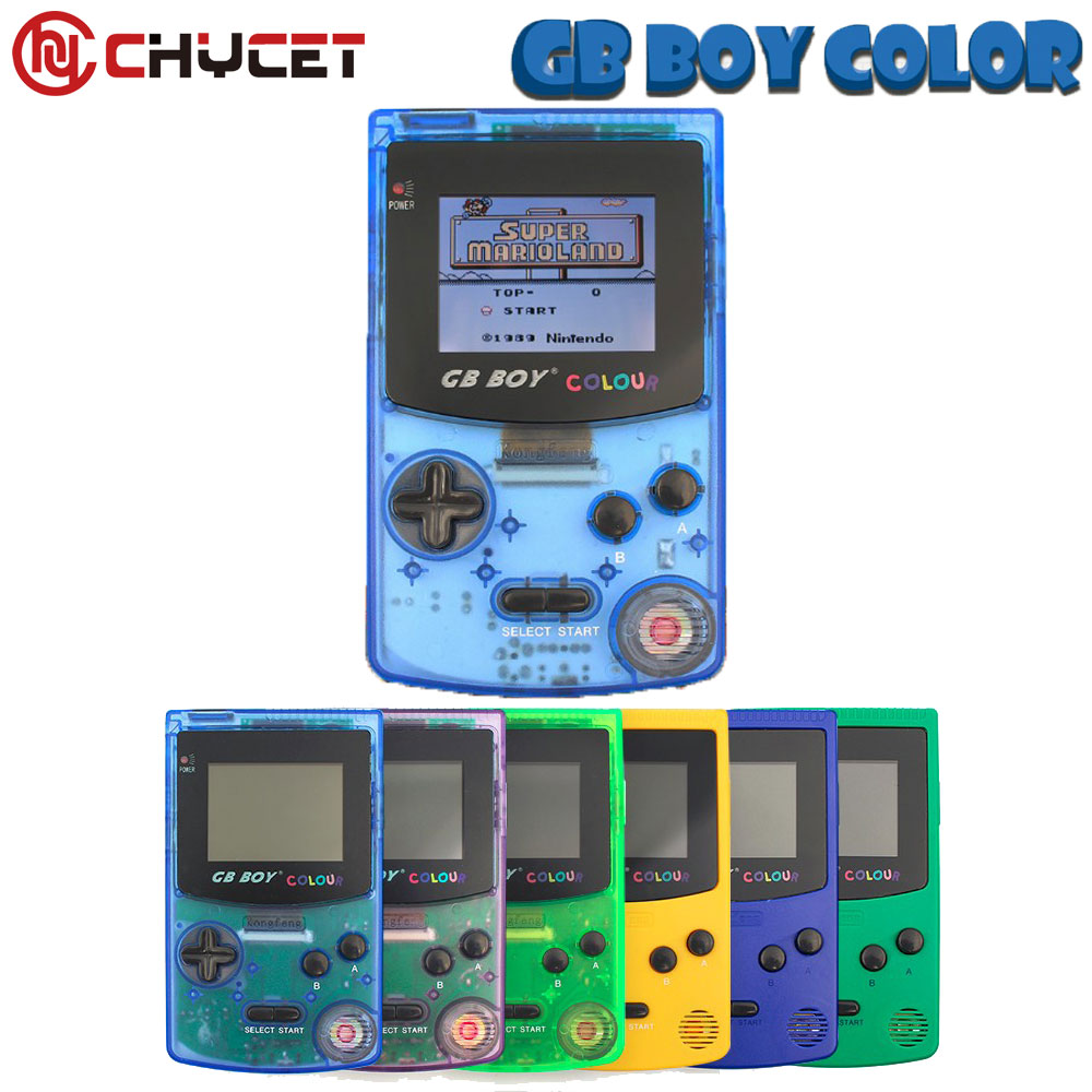 Kong Feng GB Boy Classic Color Colour Handheld Game Consoles 2.7`` Hand Held Game Player With Backlit 66 built-in Games